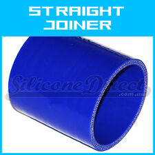 "Silicone Straight Joiner/Coupler Hose - 102mm (4"") ID - Blue"