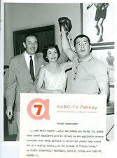 ROCKY GRAZIANO LEE BOWMAN JIL JARMYN BOXING MIAMI UNDERCOVER 1958 ABC TV PHOTO
