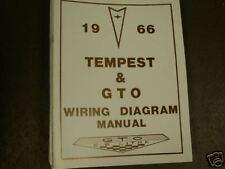1966 pontiac gto tempest lemans wiring manual