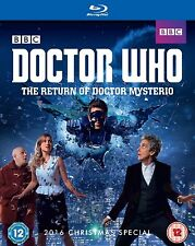 Doctor Who: The Return of Doctor Mysterio  [Blu-ray]  2016 Christmas Special +