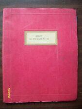 Rare Original HTF 1986/87 Homelite Dealer's Meeting notebook Flyers etc.