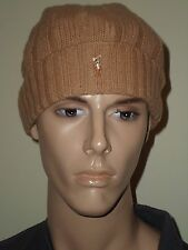 POLO RALPH LAUREN PONY LOGO WOOL/NYLON SKULL BEANIE HAT CAP HAT CAP