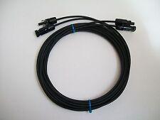 5m Pv Cable Par-rescindido ambos extremos M&F Mc4 Conector