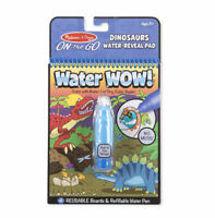 Melissa and Doug Water Wow! Dinosaurs Water-Reveal Pad - 19315 - NEW!