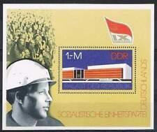 DDR postfris 1976 MNH block 45 - Socialistische partij