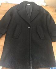 TU Women's Black Coat Jacket Size 12