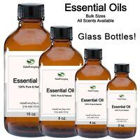 Essential Oils - 100% Pure & Natural Uncut Aromatherapy Therapeutic Grade Bulk
