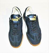 Puma Liga Classic Men's US Size 8 Suede Navy Blue / White Sneaker EUC34146651