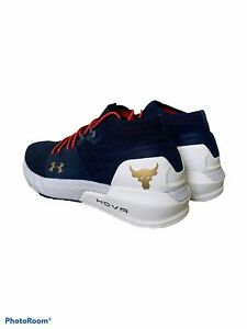 Under Armour Project Rock 2 Training Fitness Shoes Mens 8.5 Wmns 10 3022398 402