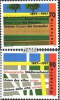 Schweiz 1616-1617 (kompl.Ausg.) postfrisch 1997 Jahresereignisse