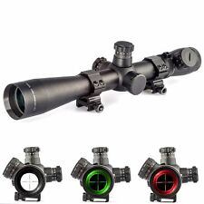 M1 3.5-10x40 R G Long Range Illuminated Mil-dot Optics Rifle Scope w/ 20mm Rail