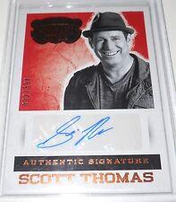 2014 Panini Country Music Scott Thomas Autograph Trading Card #S-SCT 092/394