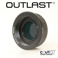 OUTLAST M42-Nikon Adapter WITH GLASS FOR INFINITY M42 to Nikon F AI (M42-Nikon)