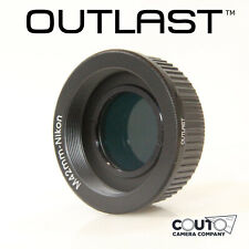 OUTLAST M42-Nikon Adapter WITH GLASS FOR INFINITY M42 to Nikon F AI (M42-Nikon)