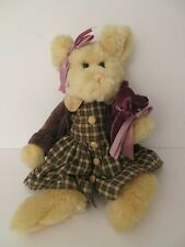 The Bearington Collection Bear Mother Baby Bear in Dress Jacket Coat New 16 Tall