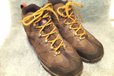 SWISS GEAR WATERPROOF Brown  Leather HIKING BOOTS SIZE 7M EU40  Quite Good