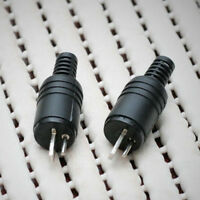 2 pin DIN Plug Speaker and HiFi Connector Screw Terminals [2 Pack] WA