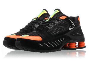 Women's Nike Shox Enigma BLACK CRIMSON RED CK2084-001 sz 5 Retro Running TL NZ