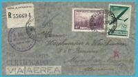 Argentina Correo Aéreo / Zensurpost: Carta por De Dependiendo Munich
