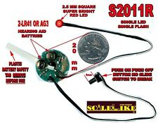 SCALELIKE S2011R  BRIGHT RED  STROBE LIGHT PROUDLY BUILT IN AMERICA NIB
