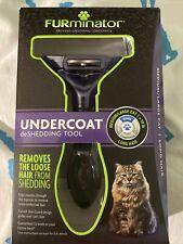 Furminator Undercoat DeShedding Tool- Med/Lg Cat, Long Hair. New, Sealed