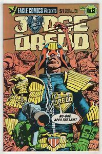 Judge Dredd #13 (Nov 1984, Eagle) John Wagner, Ron Smith c