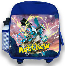UK Pokemon Pikachu Backpack School Shoulder Bag Boy Girl Rucksack Travelbag Gift