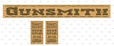 Sticker set  Gunsmith,  western cowboys for playmobil