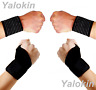 2 Wrist Straps and 2 Thumb Wrist Wraps for Recovery, Protection & Support (ST1)