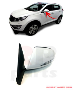 FOR KIA SPORTAGE 10-16 WING MIRROR ELECTRIC INDICATOR 5 PIN WHITE LEFT LHD