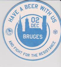 Bierdeckel / Beercoaster / Bierviltje Bruges 02-12-2017 Ingress