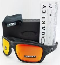 NEW Oakley Turbine sunglasses Black Camo Prizm Ruby 9263-53 AUTHENTIC 9263 red