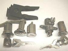 NOS Door & Ignition and Trunk & Glove Lock Set & Keys 1962 1963 Ford Galaxie