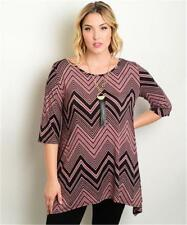 NEW..Stylish Plus Size Top with Hanky Hemline..Sz20/2XL
