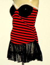 Unbranded Stripes Strapless Dresses for Women