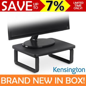 NEW Kensington SmartFit Monitor Stand HEIGHT ADJUSTABLE Computer Screen Black