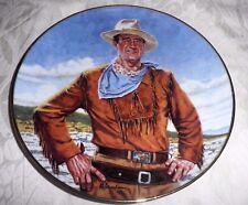 FRANKLIN MINT JOHN WAYNE COLLECTORS PLATE - 'THE DUKE'