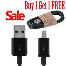 1m Sony Xperia X Z5 Z3 Z2 Z1 Z Charger Micro USB Data Charging Cable Black *