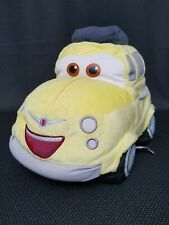 "Disney Pixar Cars Luigi Plush Car 12"" Yellow Pillow Plush"