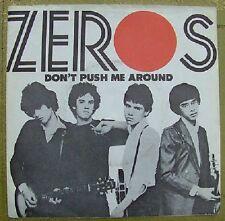 "Zeros Don 't Push Me Around 7"" LINE Rec."