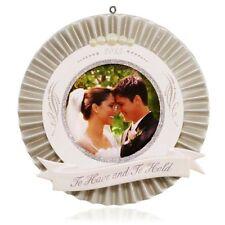 Hallmark Ornament 2015 Our Wedding Photo Holder