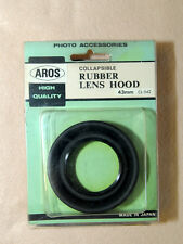 * AROS ( HIGH QUALITY ) : RUBBER LENS HOOD 43mm - CL-542