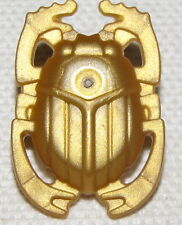 LEGO NEW PEARL GOLD BEETLE SCARAB SHIELD WEAPON PIECE