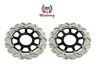 Front Brake Disc Rotors Set For Honda CBR 1000 RR 2006-2007 Wave Rotors