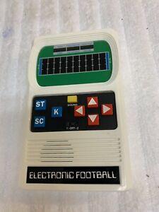 Vintage Matel Electronics 1977 Clean Working Football Game