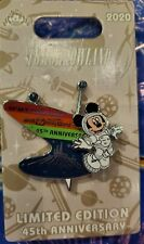 Space Mountain 45th Anniversary Mickey Mouse Limited Edition Pin