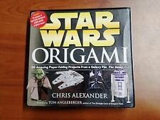 Star Wars Origami by Chris Alexander Paperback Book (English) Free Shipping