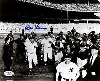 Don Larsen autographed signed 8x10 photo MLB New York Yankees PSA COA
