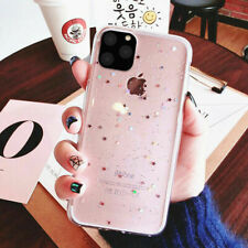 Glitter Clear Soft TPU Back Case Phone Cover For iPhone 12 Pro Max 11 Xs Xr 7 8