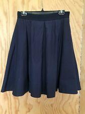 COS Full Gathered Knee-Length Dark Blue Skirt  EUR 38 UK 12